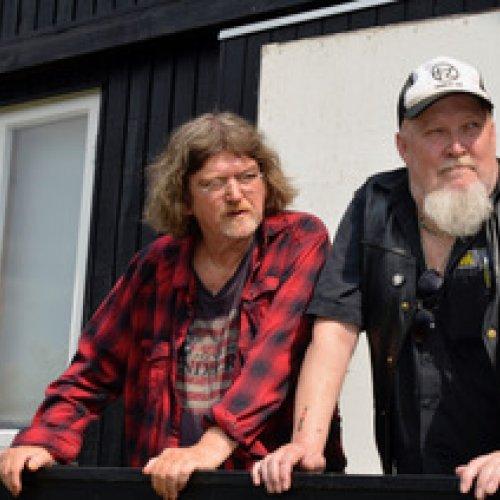 Johnny Madsen og Steffen Jungersen på realen