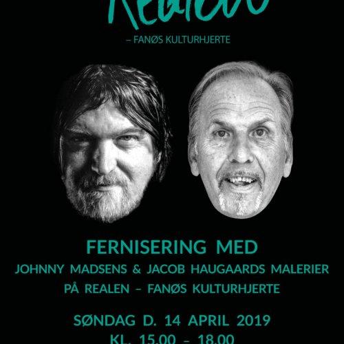 Påskeudstilling med Johnny Madsen og Jacob Haugaard