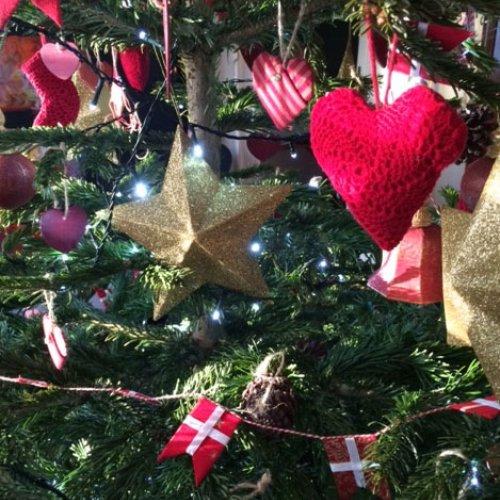 Juletræsfest for de små og de store