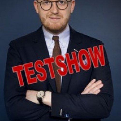 Nikolaj Stokholm tester show på Realen – UDSOLGT