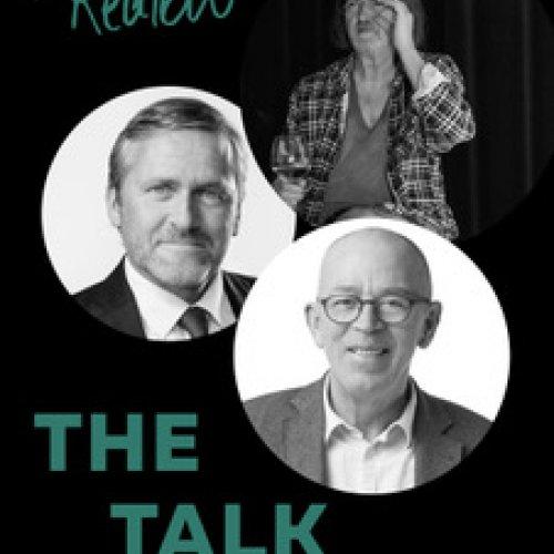 """The Talk"" med Johnny Madsen, Villy Søvndahl og Anders Samuelsen på Realen"